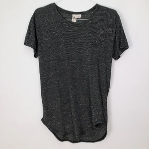 UO Three Feathers Loose Slouchy Top